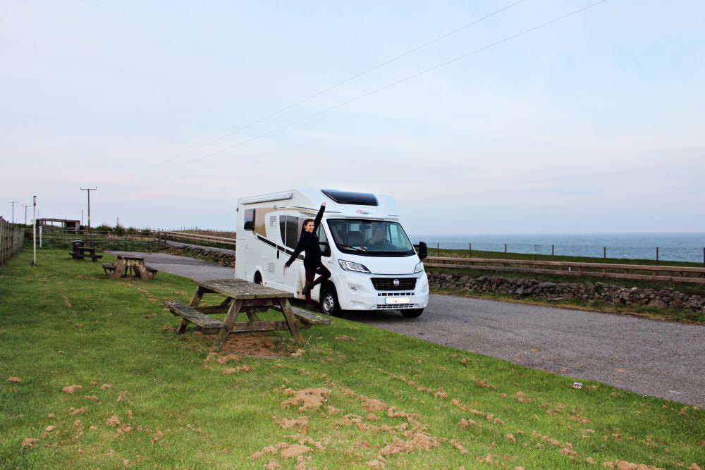 Road Trip through Scotland with a Fiat Carado T447