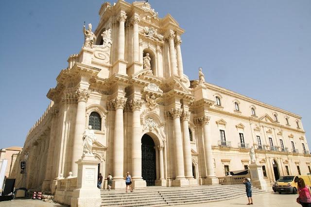 Catedral de Siracusa na Piazza Duomo