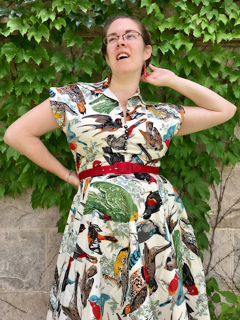 trashy diva Birds of a feather circle day dress review