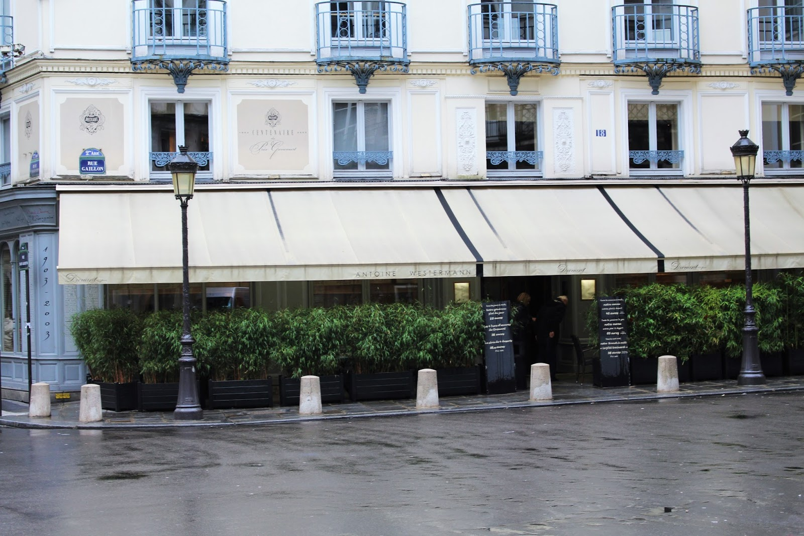 Dinner at Drouant by Antoine Westermann - Paris Michelin-starred restaurants - UK lifestyle blog