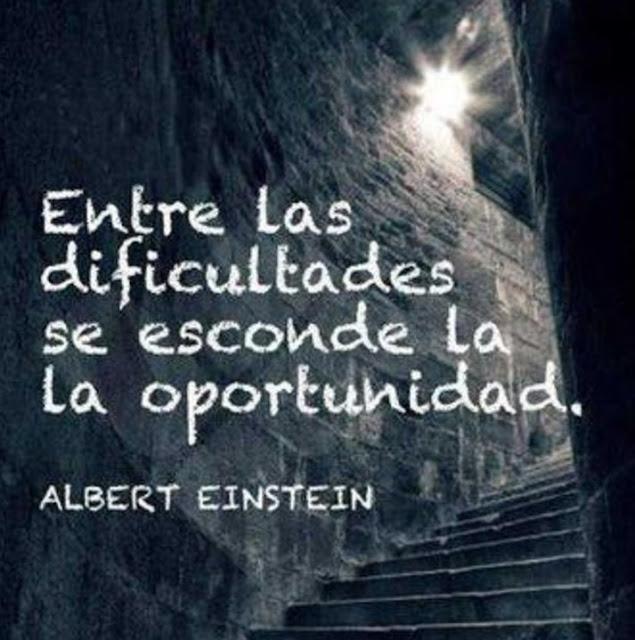 Entre las dificultades...