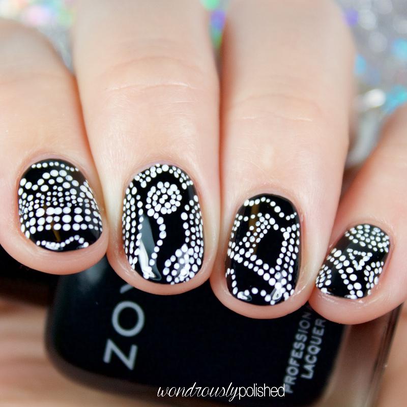 Wondrously Polished 40 Great Nail Art Ideas Black White