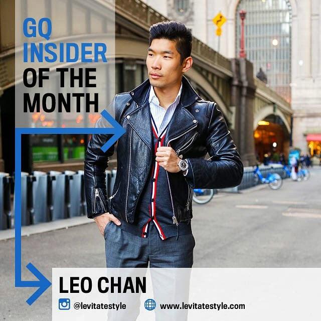 GQ Insider, Levitate Style - Leo Chan