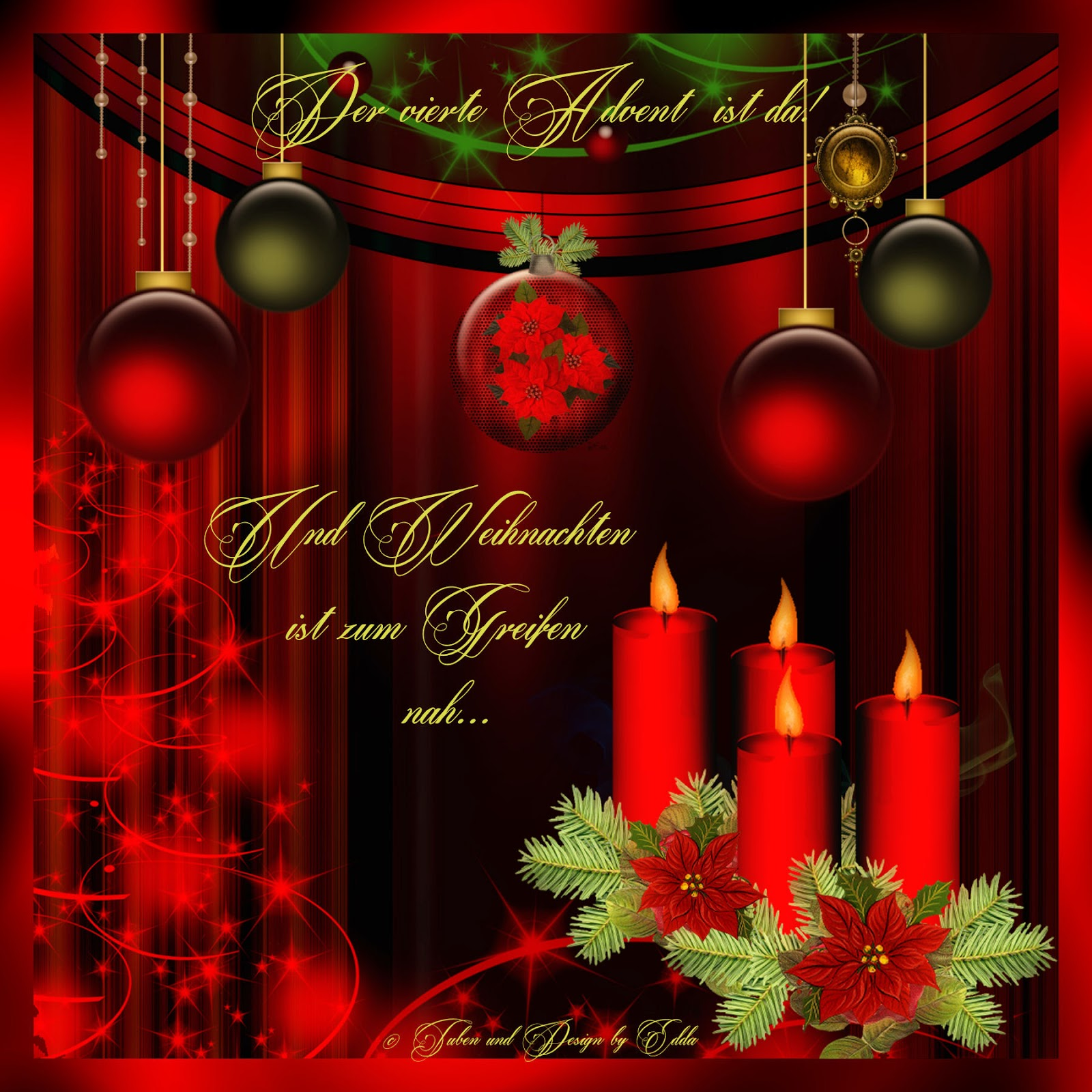 eddas tr umereien der advent ist da und weihnachten. Black Bedroom Furniture Sets. Home Design Ideas