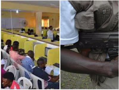 JAMB candidate nabbed with gun at examination centre