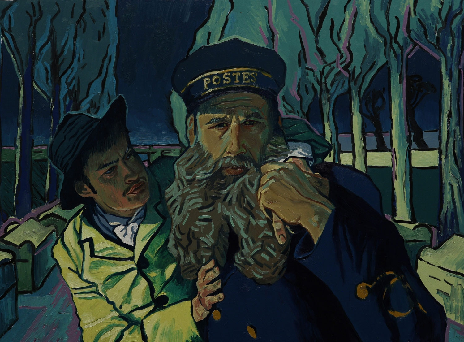 12-Animated Oil Paintings to tell the story of Loving Vincent Van Gogh