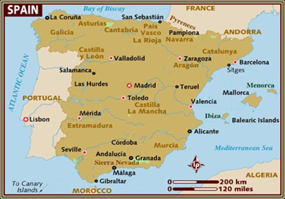 Istoria Spaniei - History of Spain - dermacos.ro