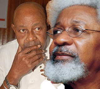 Tam David-West and Wole Soyinka