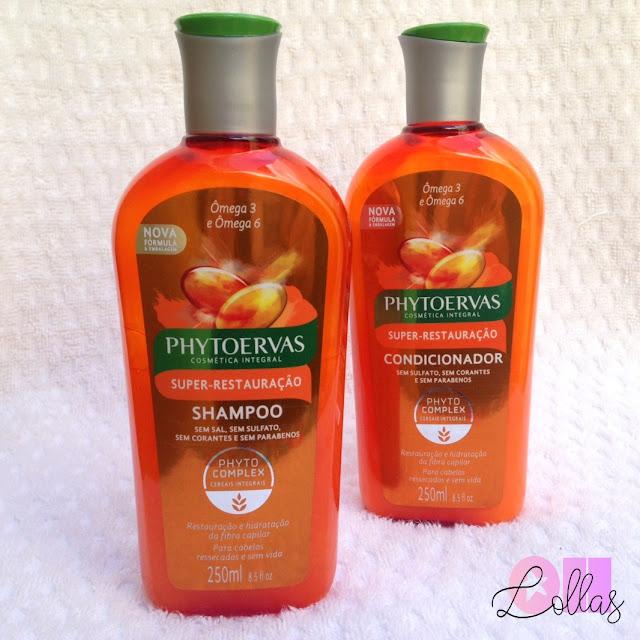 Resenha | Shampoo e Condicionador Phytoervas Super Restauração Ômega 3 e 6