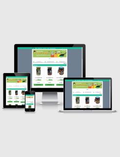 Landing Page Minisite Blogspot Responsive