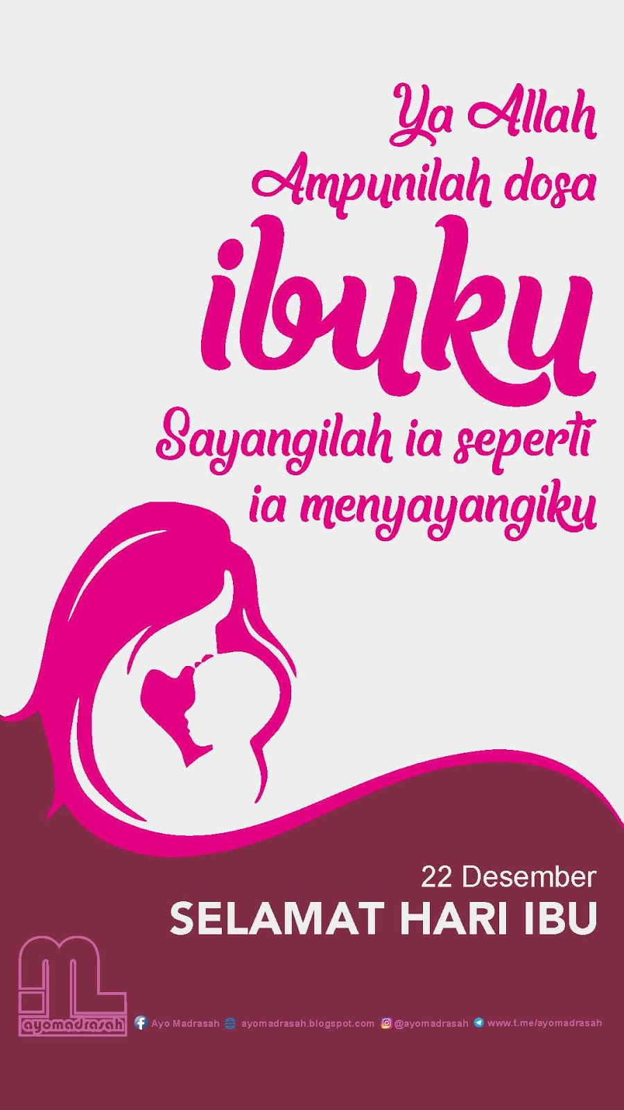 Materi Pelajaran 5 Kumpulan Gambar Ucapan Selamat Hari Ibu