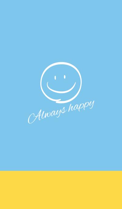 Always happy.