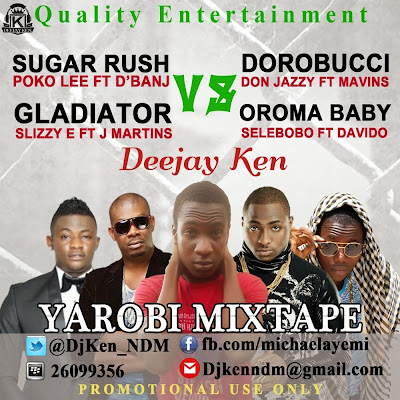 Hot Selection: Dj Ken - Sugar Rush vs Dorobucci Ft Da Whizzy