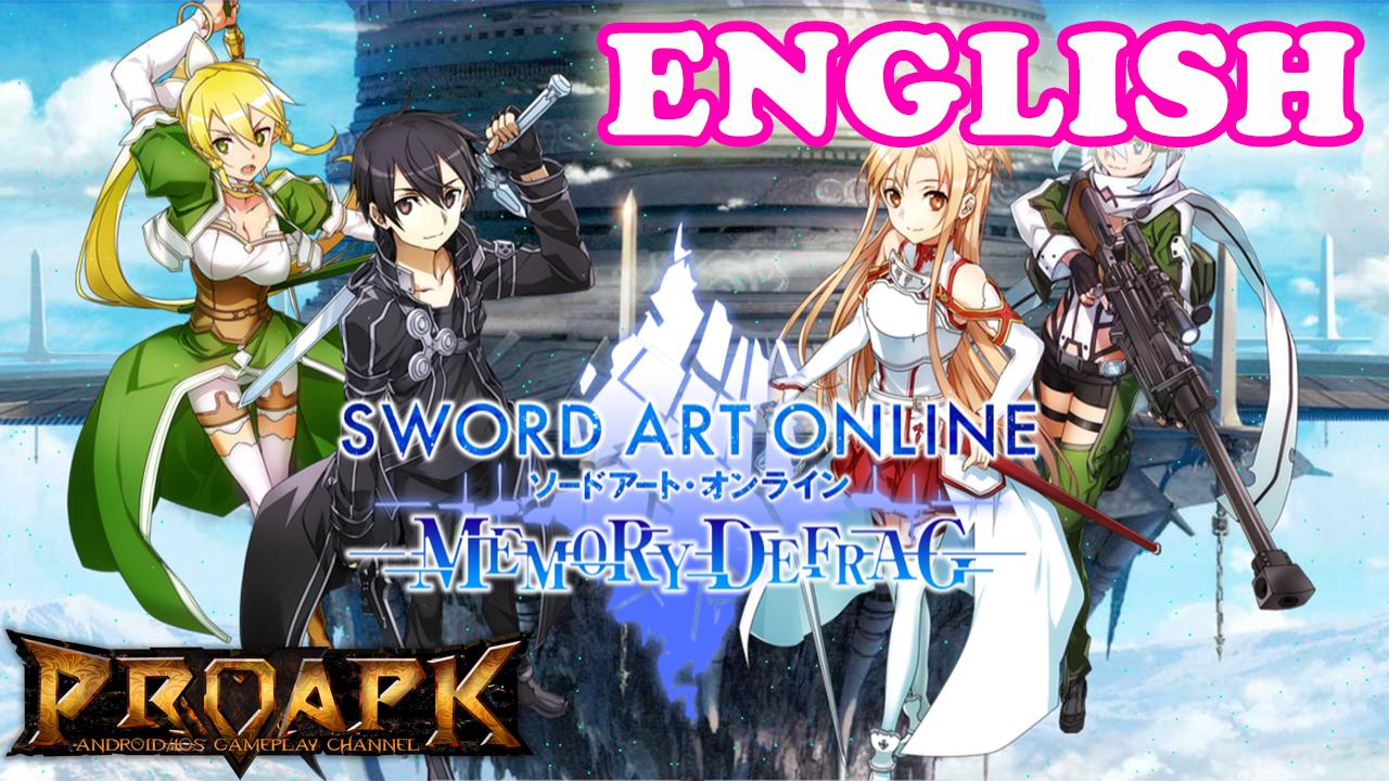 SWORD ART ONLINE Memory Defrag