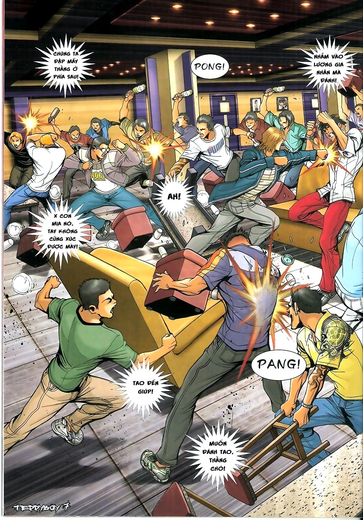 Người Trong Giang Hồ - Chapter 1345: Con của Chó Xám - Pic 5
