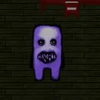 Jogo de RPG Maker de terror Ao Oni, o demônio azul.