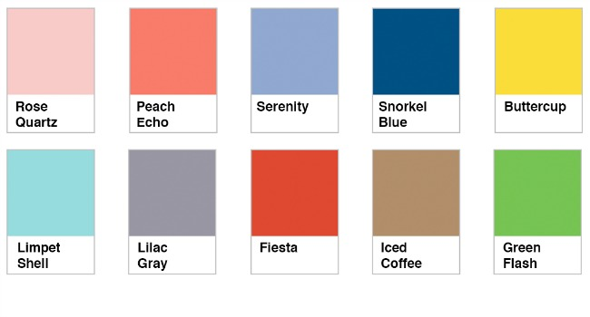 According To The Official Pantone Fashion Color Report Colors This Spring Season Transport Us A Hier Sunnier Place