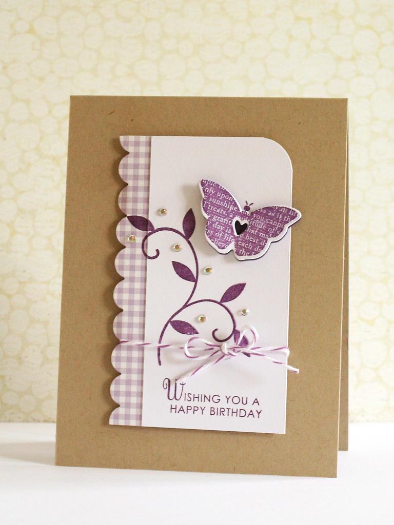 Днем рождения, милые открытки из картона