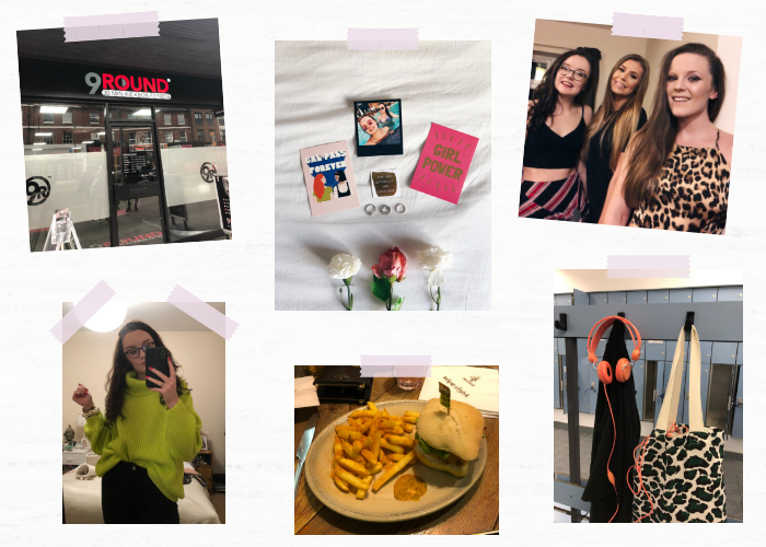 A lifestyle roundup of my week at university featuring all I've bought, watched, eaten, seen and been up to. Featuring Valentine's Day, trying out kickboxing and a disappointing Nandos.
