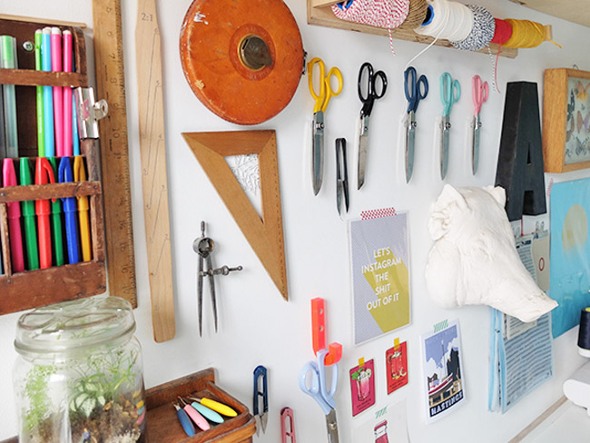 Sewing Space Tours... Kate's South London studio!
