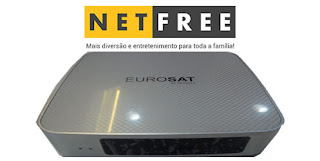 atualização - NETFREE EUROSAT NOVA ATUALIZAÇÃO V1.64 Eurosat