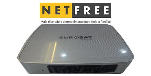 NETFREE EUROSAT NOVA ATUALIZAÇÃO V1.64 - 26/07/2018