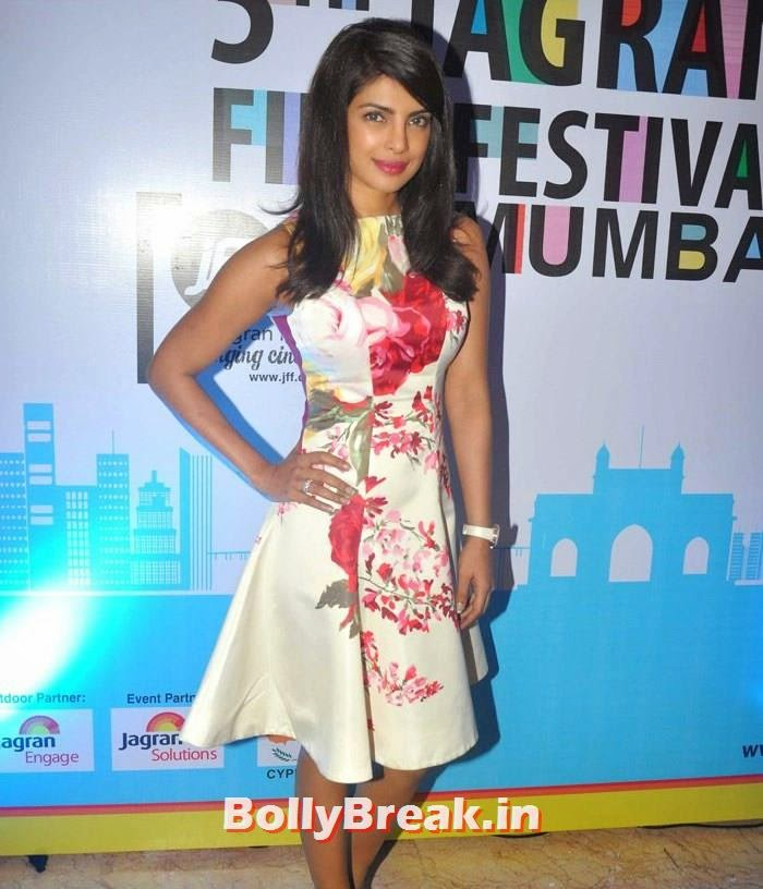 Priyanka Chopra, 5th Jagran Film Festival Red Carpet Pics