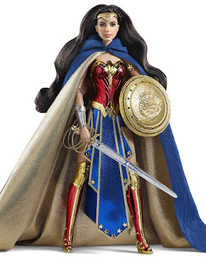 San Diego Comic-Con 2016 Exclusive Barbie Amazon Princess Wonder Woman Doll by Mattel