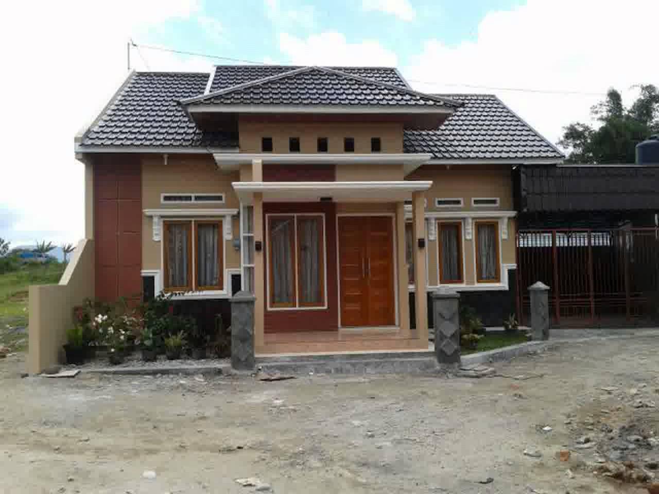54 Desain Rumah Sederhana Di Kampung Minimalis Dan Modern Kumpulan Desain Minimalis