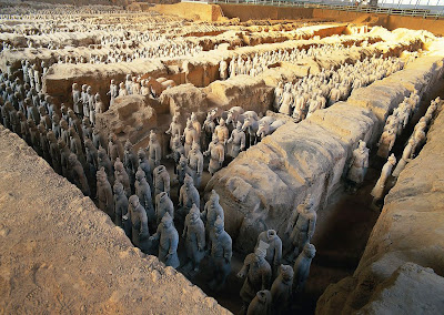Imperial palace found at Emperor Qin's mausoleum