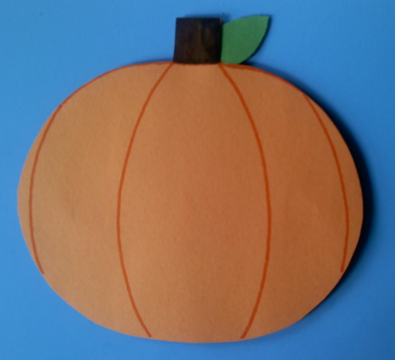 Crafts For Preschoolers Whats Inside A Pumpkin Craft