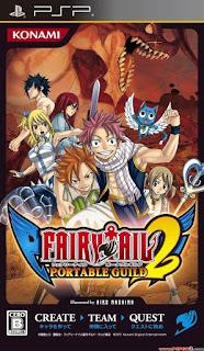 Fairy Tail Portable Guild 2 JAP PSP GAME