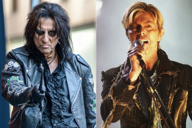 Alice Cooper&David Bowie: artistas no FULL POWER