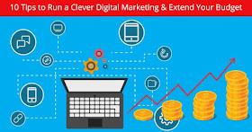 tips run clever digital marketing strategy stretch budget