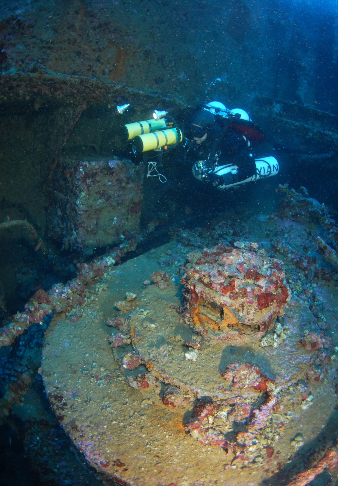 Britannic Engine Room: Burdigala: 100 Years Since The Sinking Of The Second