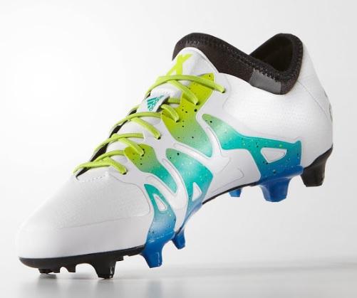 Adidas X 15.1 FG AG White Blue [3]