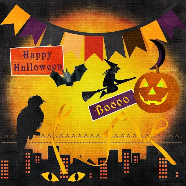 Fondos y elementos PNG Halloween (Clipart)