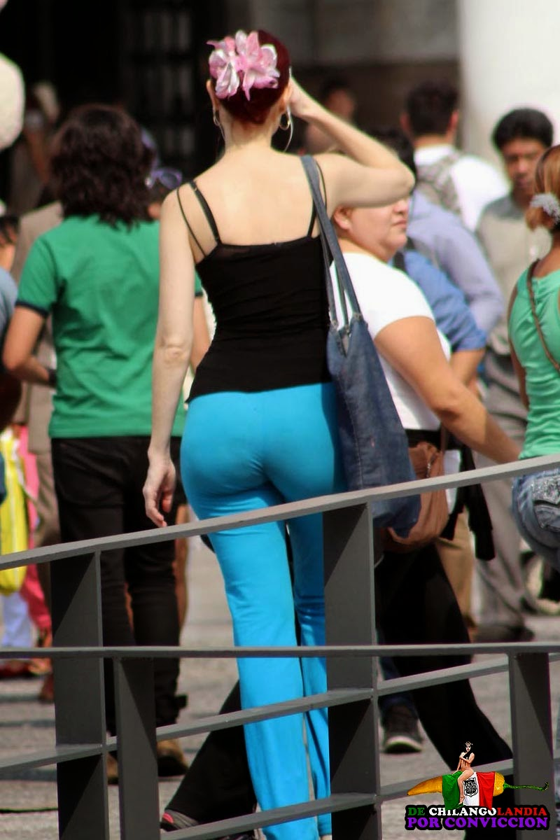 Tight spandex shorts pawg candid wide hips juicy ass mod - 3 part 9