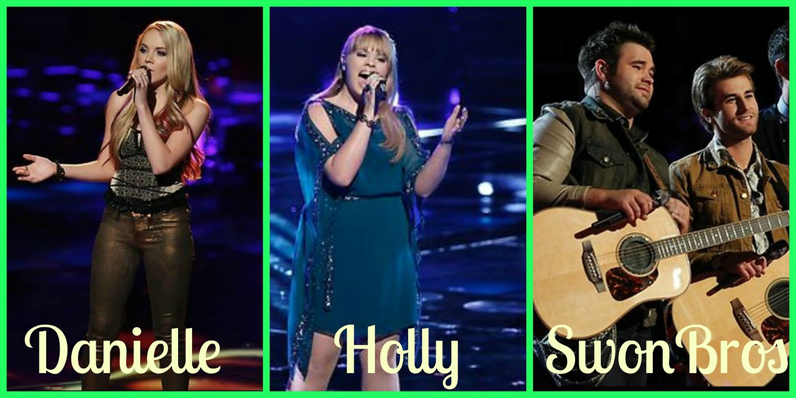 Life is Reality TV: The Voice Season 4: Teams for the Live Shows