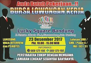 Bursa Kerja Bandung di Akhir Tahun
