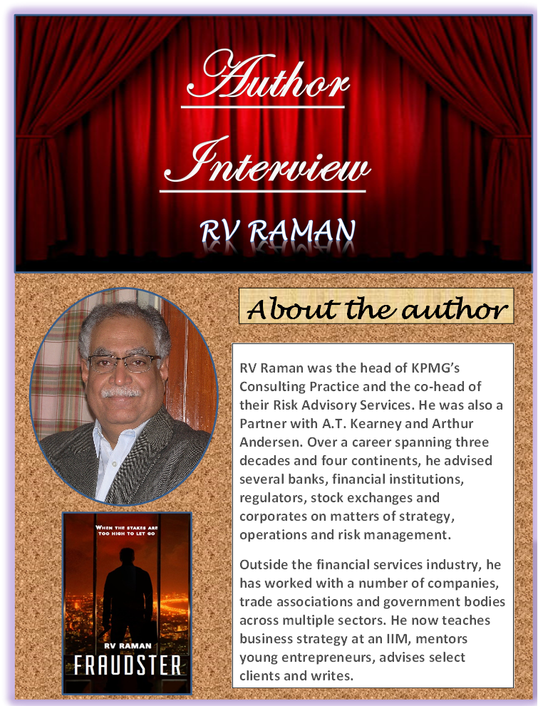 So Many Books, So Little Time : Author Interview: RV Raman