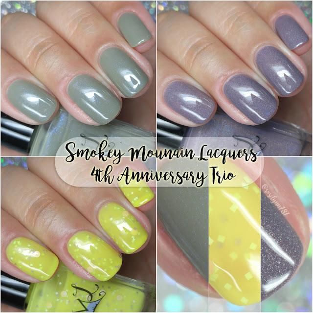Smokey Mountain Lacquers - 4th Anniversary Trio