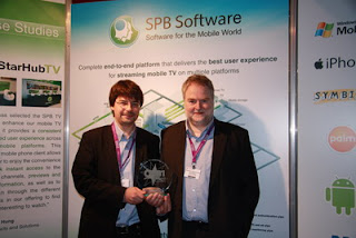 SPB TV wins CSI Award 2010 as the Best mobile TV technology during IBC show