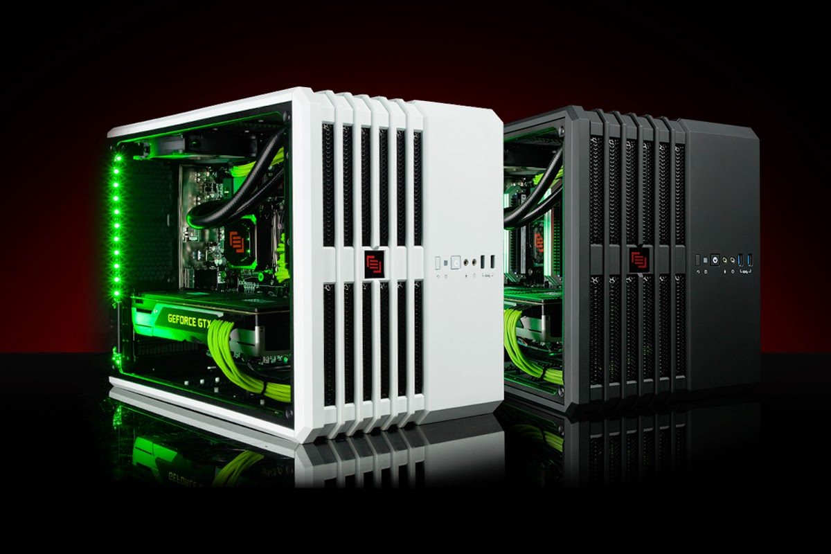 maingear reveals x cube space saving gaming pc biogamer girl. Black Bedroom Furniture Sets. Home Design Ideas