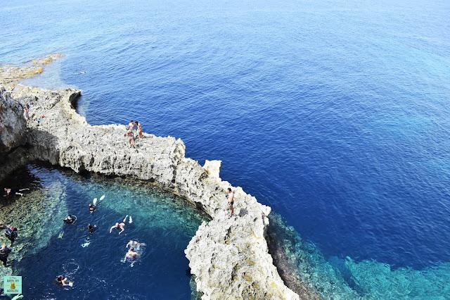 Blue Hole, isla de Gozo (Malta)