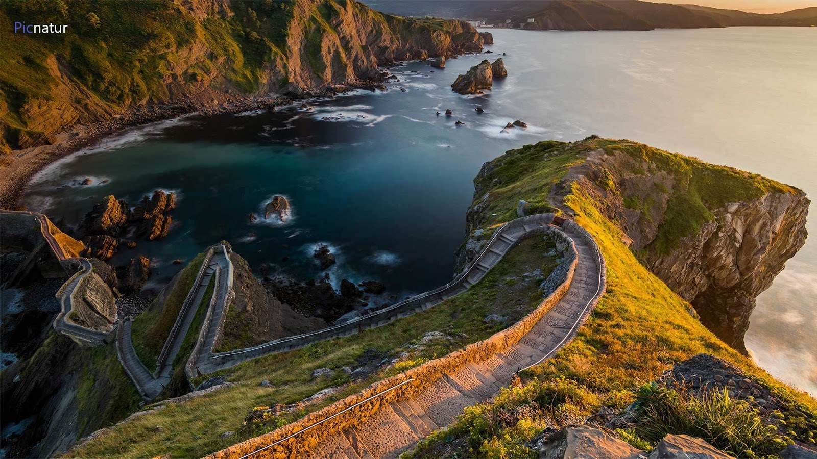 Path to San Juan de Gaztelugatxe, Basque Country, Spain © Anton Petrus/Moment/Getty Images