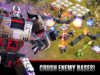 Transformers: Earth Wars Mod Apk Unlimited Energy
