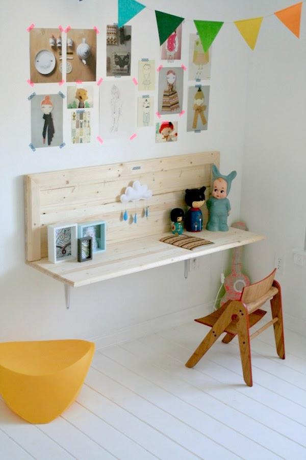 decoracion escritorio infantil