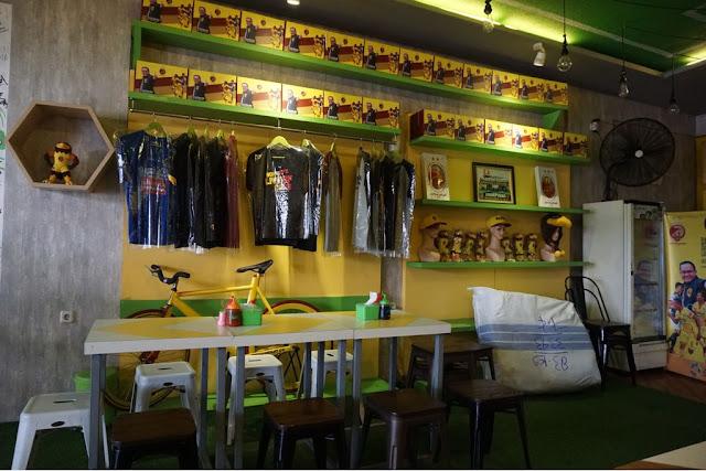 Cafe Sriwijaya Palembang