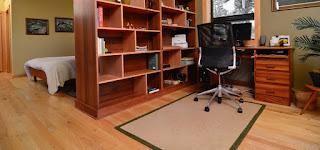Tabique armario en oficina